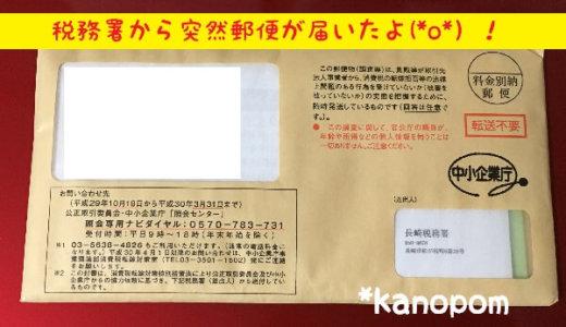 税務署からいきなり郵便が届いた!消費税の転嫁拒否等に関する調査