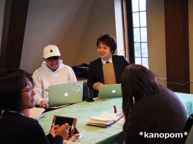 宮里賢史さん・文字起こしばりぐっどくん開発者・かのぽむ撮影