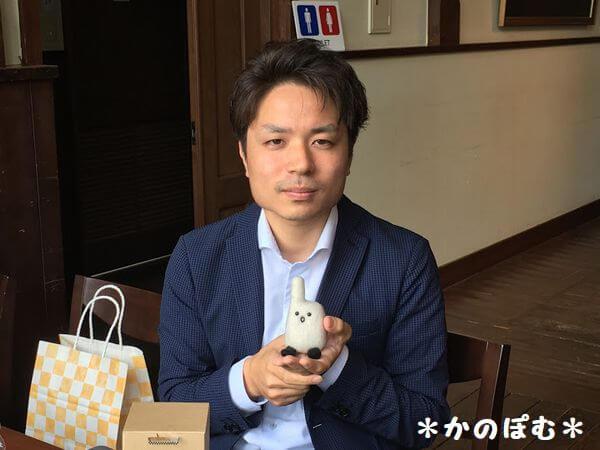 宮里賢史さんにばりぐっど人形を納品しました。